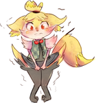 Braixen Isabelle by Spanish-Scoot