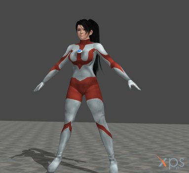 UltraWoman Momiji (MOD) for XNALARA by HeroineFactory
