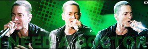 Eminem I Need A Doctor Sign by icaromnz