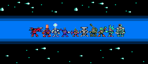 MMU The 9 robot masters + Whirlpool man by Alejandro10000