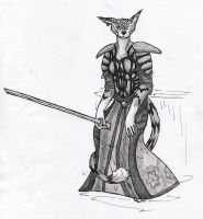 Dhetal the Khajiit by sunshineley