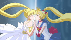 Sailor Moon Crystal. redraw by DaisyHarvey