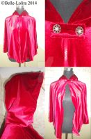 Little Red Riding Cape by Belle-Lolita-Designs