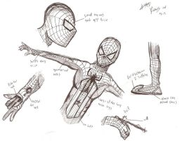 Spiderman reboot costume concept by ExploadingRabbits