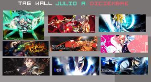TAG Wall Julio-Diciembre by AkashaMc