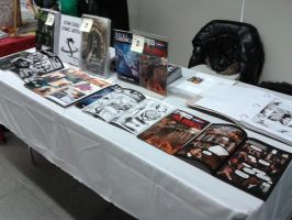 I Tabled At Big Apple Con 2015! by ryuzo