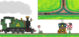 How Spirit Tracks Should've Looked Like by RailroadNutjob