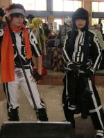 Lavi and Kanda by Wolf-Girl-Rin