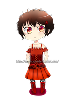 Chibi free for naruedyoh for  ask me a commission by marina094