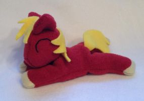 Big Macintosh beanie plush by Bewareofkitty