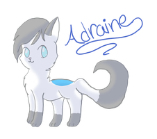 Art Trade With AdraineTheWolf! by lullabylantern