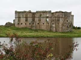 Carew Castle, Pembrokeshire 4 by OghamMoon