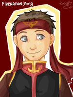 Firenation Aang Tegaki 8D by GiselleRocks