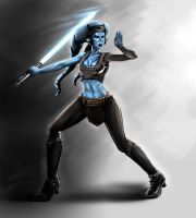 Aayla Secura by jameslink