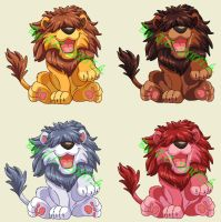 Silly lion pet by J-C