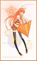 Vocaloid cards- Miki by fataleflare