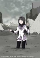 Homura Sinking into Despair 2 by A-020