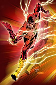 THE FLASH by Timothy Green II by comicero