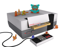 Zelda NES Render Updated by Dias-Jean