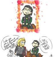 Loki Does What He Wants by hinote-ookami