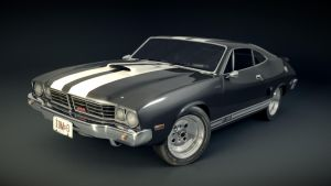 Car model  : Thor (Ford Falcon) (Blender 3D) by TomWalks
