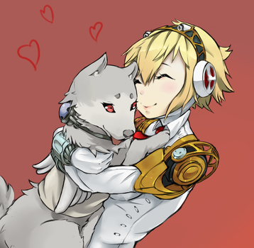 Aigis Love by fruitbloodmilkshake