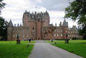 Scotland, Glamis Castle by elodie50a