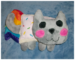 Nyan Cat Plush by saiyamewome