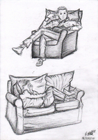 rough sketches by Lady-Vicky