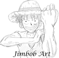 Luffy by Jimbobads