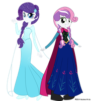 Rarielsa and Sweetie Anna by TechnicallyLegal