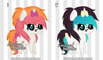 OPEN Pixel Pony Adoptables by LaraLeeL