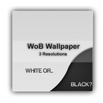 White or Black Wallpaper by Beneyto93