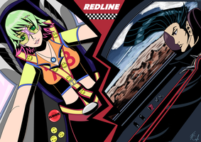 REDLINE - Sonoshee and JP by Axonn7