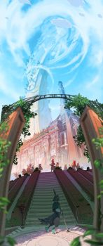 ABRAXAS: The Central Plains University by painted-bees