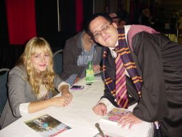 yay i met andrea libman by nicoflare