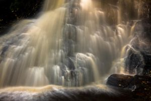 Hareshaw Linn Waterfall 8 by newcastlemale