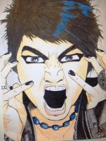 Adam Lambert SCREAM by monkeynuts123