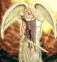 Arch angel mike by Ace-of-Clubs