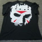 Jason Mask Hand Made shirt by ibentmywookiee
