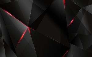 BEHIND - Free abstract dark triangle wallpapaer by m-deviant