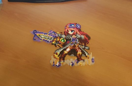 'Aileen' Perler - Final Fantasy Brave Exvius by Shada60