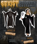 Sexy Sexist Halloween Costumes: The Montage by sixdeadboys