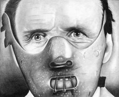 Hannibal Lecter by shonechacko