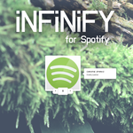 Infinify - a Spotify player by Enzity
