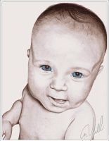 Baby Portrait by Yoell