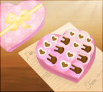 Love: Chocolate Box by pipply