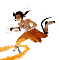 chell by CuteSkitty