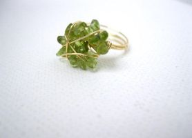 Peridot ring by faranway