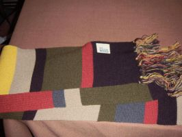 My Fourth Doctor Scarf by BrigadierDarman